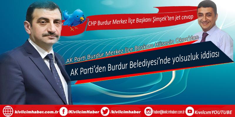 AK Parti'den Burdur Belediyesi'nde yolsuzluk iddiası