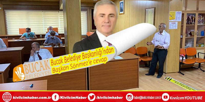 """Bucak Belediyesi'nden Başkan Sönmez'e cevap: """"Bir ilçe başkanının acizliği ve şov merakı"""""""