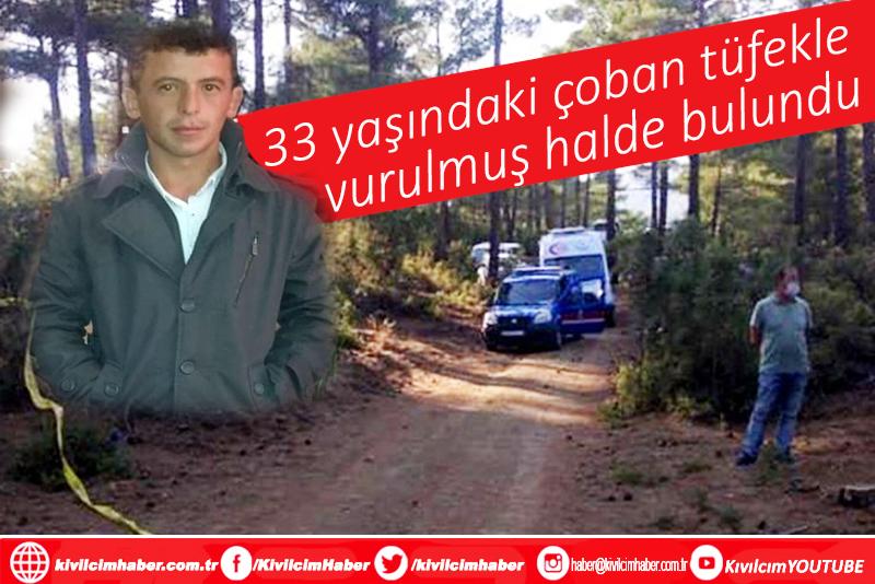 Burdur'da bir çoban, aracında tüfekle vurulmuş halde bulundu