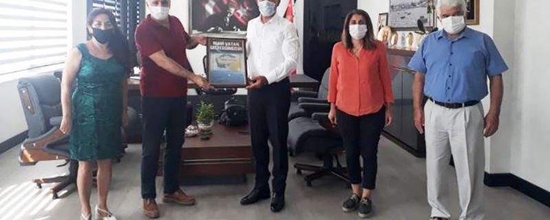 Vatan Partisi'nden Mersin İl Emniyet Müdürlüğü'ne ziyaret