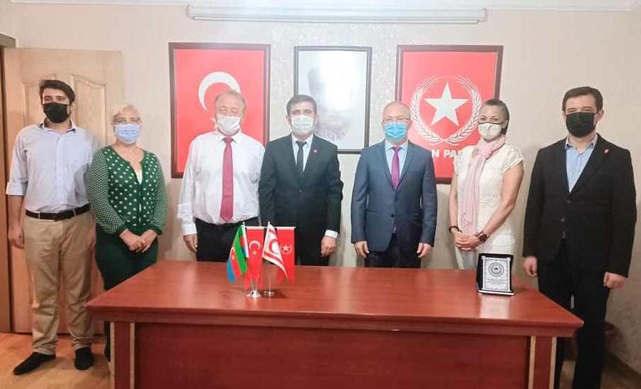 KKTC Antalya Başkonsolosundan Vatan Partisi ziyareti
