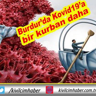 Burdur'da Kovid19'a bir can daha kurban