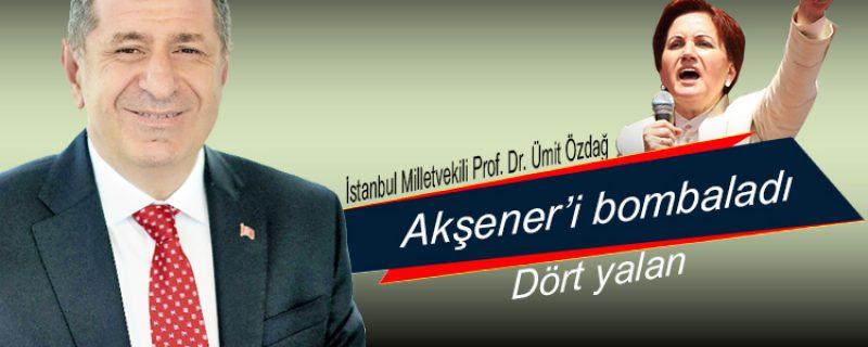 Prof. Dr. Özdağ, Akşener'i bombaladı
