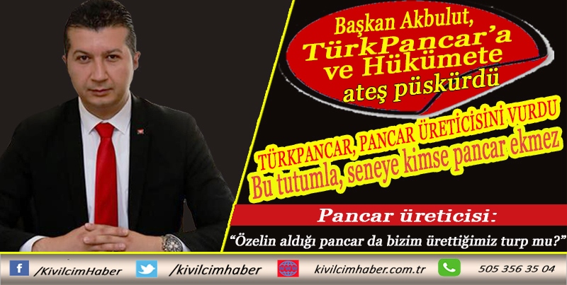 TürkPancar, pancar üreticisini vurdu