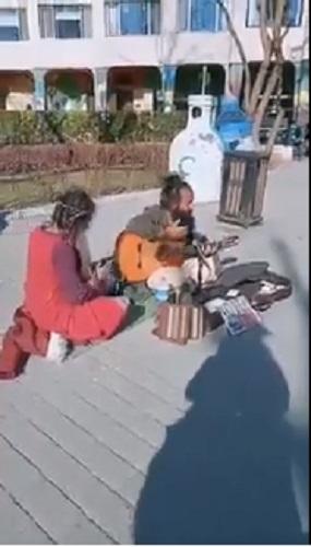 Sokak sanatçısı Pako Doğan