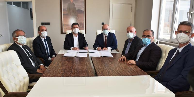 MAKÜ -Burdur Belediyesi arasında işbirliği protokolü