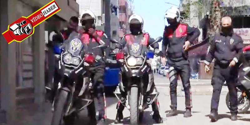 Sahte ihbarla Polis haftası kutlaması