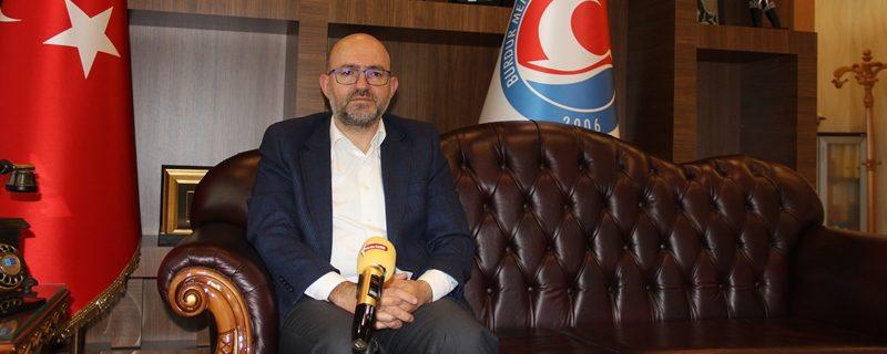 Rektör Prof. Dr. Korkmaz ile söyleşi