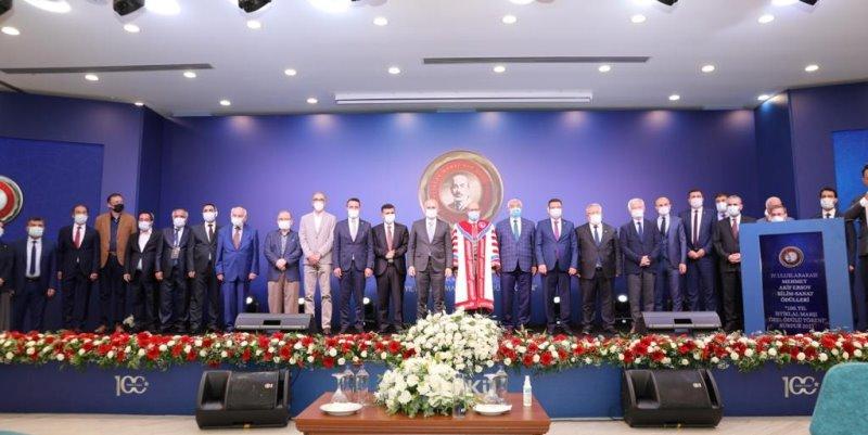 MAKÜ'de 100. Yıl İstiklal Marşı Özel Ödül Töreni