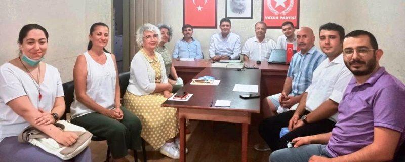 Antalya Vatan Partisi'nde görev değişikliği