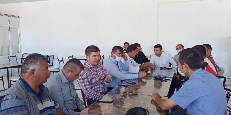 CHP Merkez İlçe'den fasulye üreticilerine ziyareti
